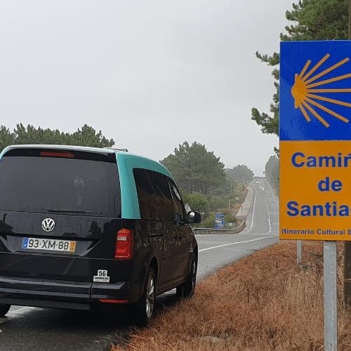 táxi para caminhos de santiago